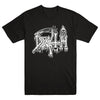 "DEATH ""Classic Logo White On Black"" T-Shirt"