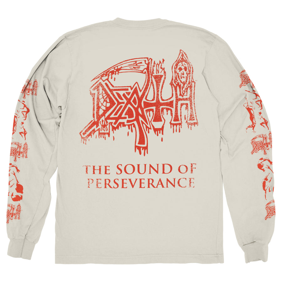 "DEATH ""The Sound Of Perseverance Vintage Wash"" Longsleeve"