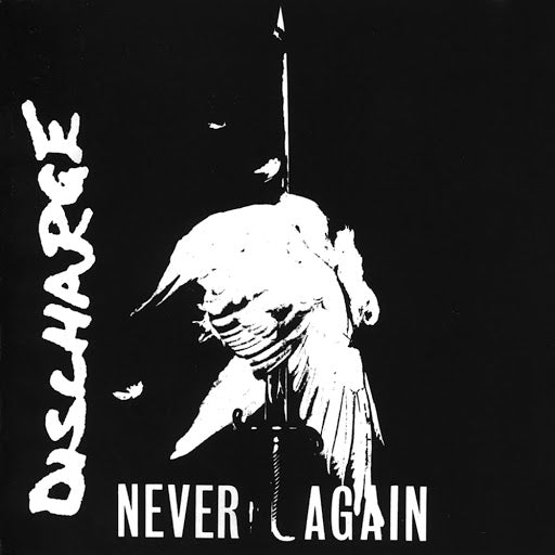 "DISCHARGE ""Never Again"" LP"