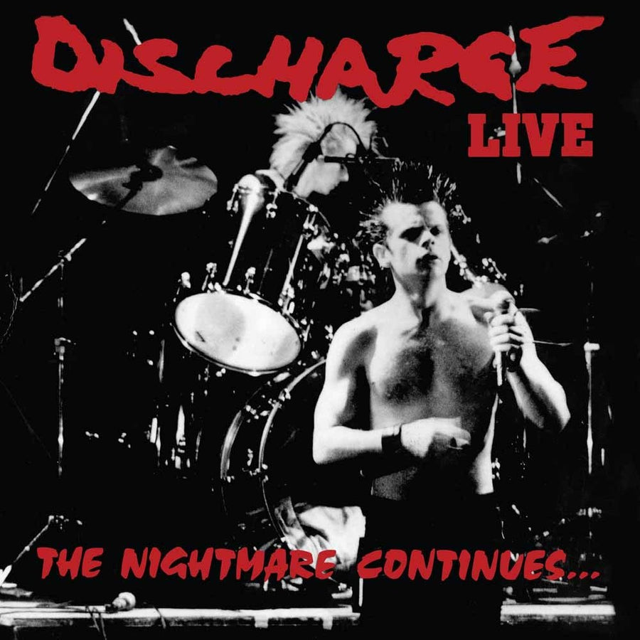 "DISCHARGE ""The Nightmare Continues"" LP"