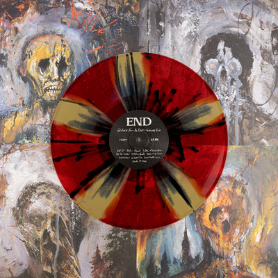 "END ""Splinters From an Ever-Changing Face"" LP"