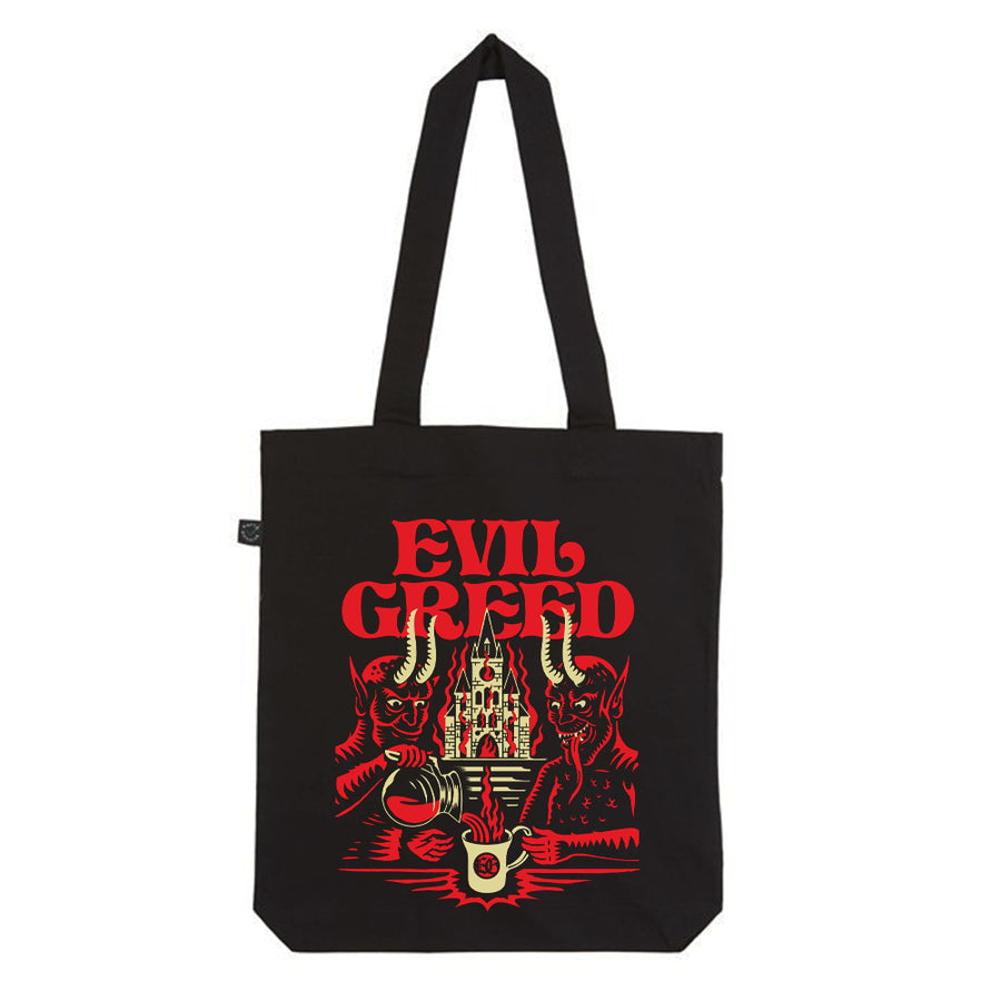 "EVIL GREED ""Specialty Coffee"" Tote Bag"