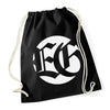 "EVIL GREED ""Circle Logo"" Gym Bag"