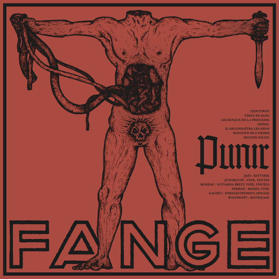 "FANGE ""Punir"" LP"