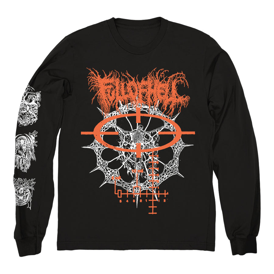 "FULL OF HELL ""Vessel Deserted Black"" Longsleeve"