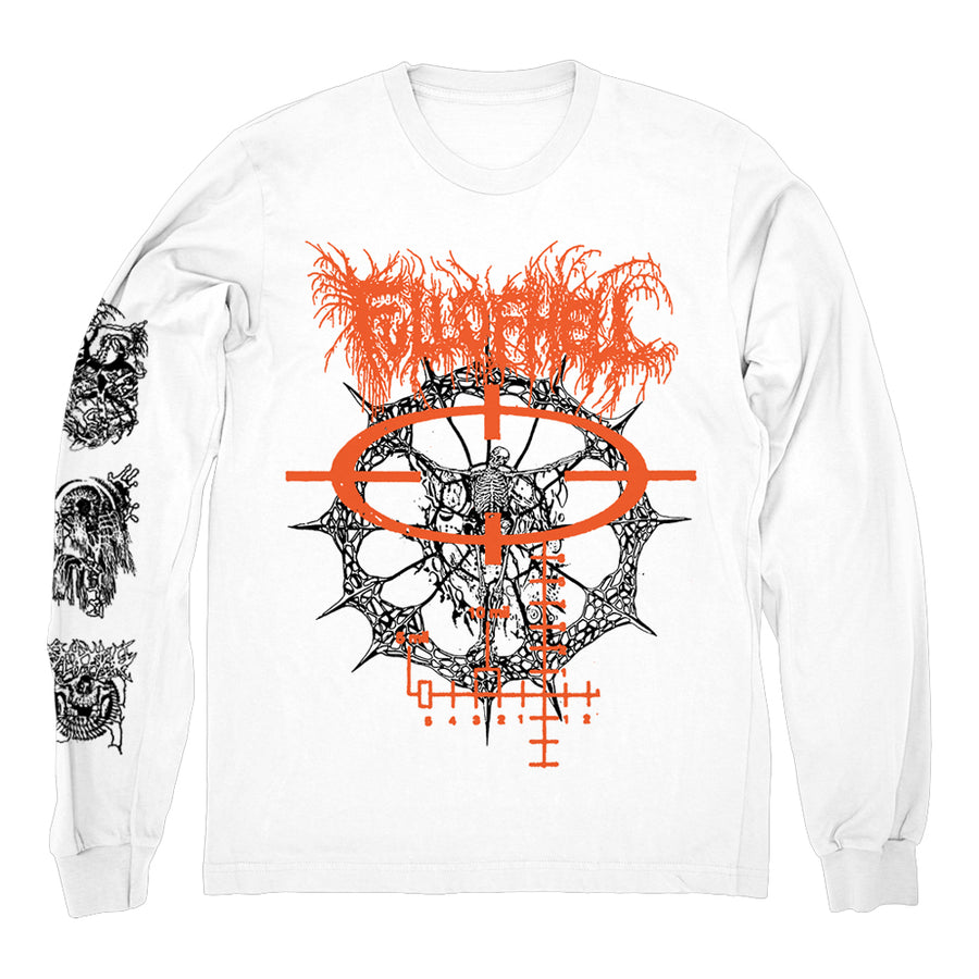 "FULL OF HELL ""Vessel Deserted White"" Longsleeve"
