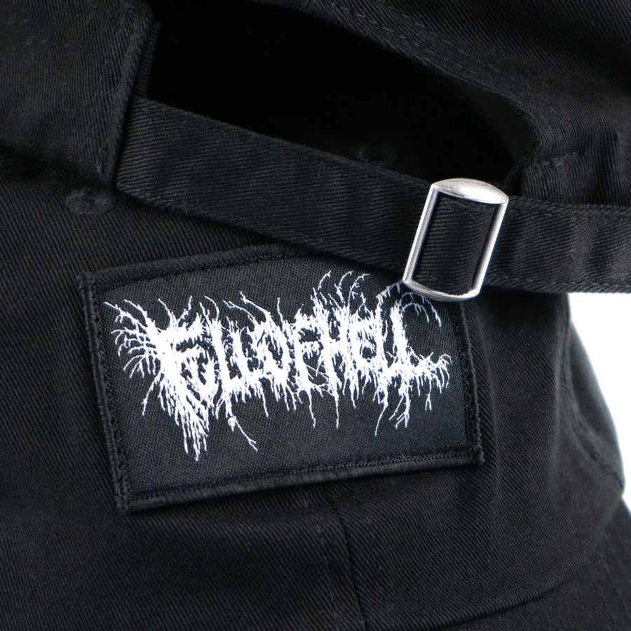 "FULL OF HELL ""Logo Patch"" Dad Hat"