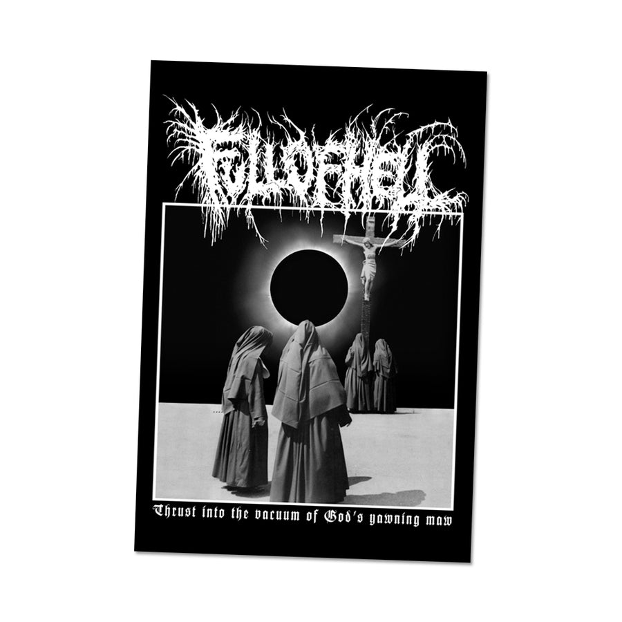 "FULL OF HELL ""Deluminate"" Backpatch"