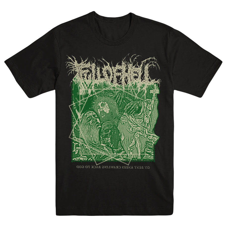 "FULL OF HELL ""On Bent Knees"" T-Shirt"