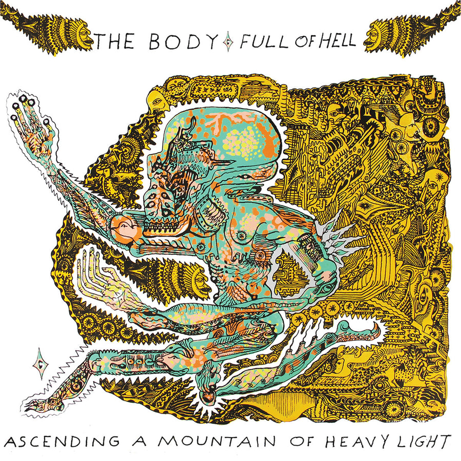 "FULL OF HELL/THE BODY ""Ascending A Mountain Of Heavy Light"" CD"