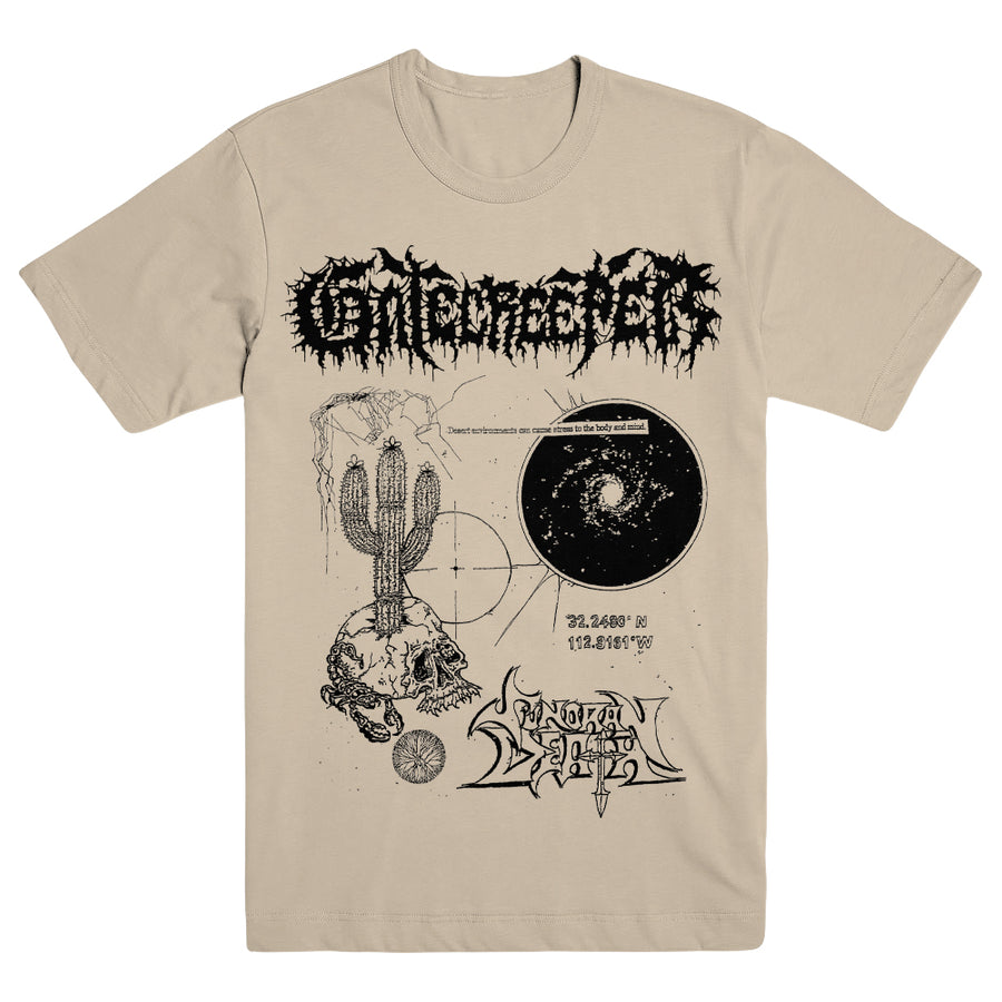 "GATECREEPER ""Body And Mind Sand"" T-Shirt"