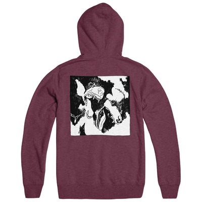"GOUGE AWAY ""Burnt Sugar"" Hoodie"