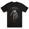 "GRAVE PLEASURES ""Skeleton Black"" T-Shirt"