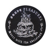"GRAVE PLEASURES ""Skull"" Patch"