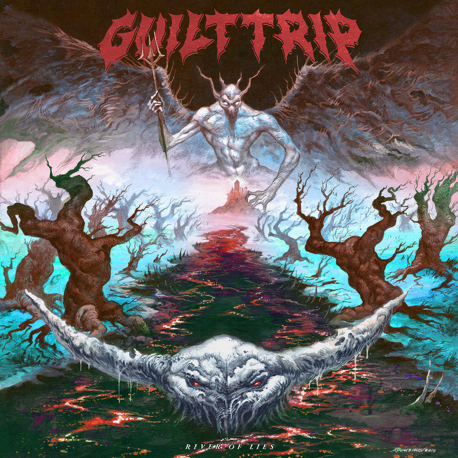 "GUILT TRIP ""River Of Lies"" CD"