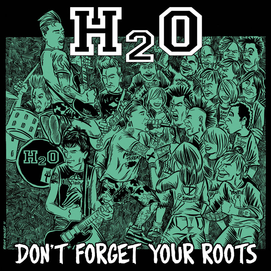 "H2O ""Don't Forget Your Roots"" LP"