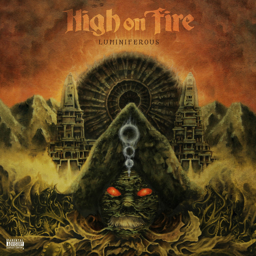 "HIGH ON FIRE ""Luminiferous"" 2xLP + CD"
