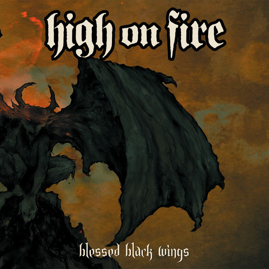 "HIGH ON FIRE ""Blessed Black Wings"" 2xLP"