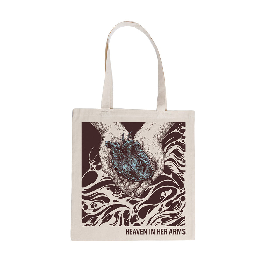 "HEAVEN IN HER ARMS ""Forgivable Drown"" Tote Bag"