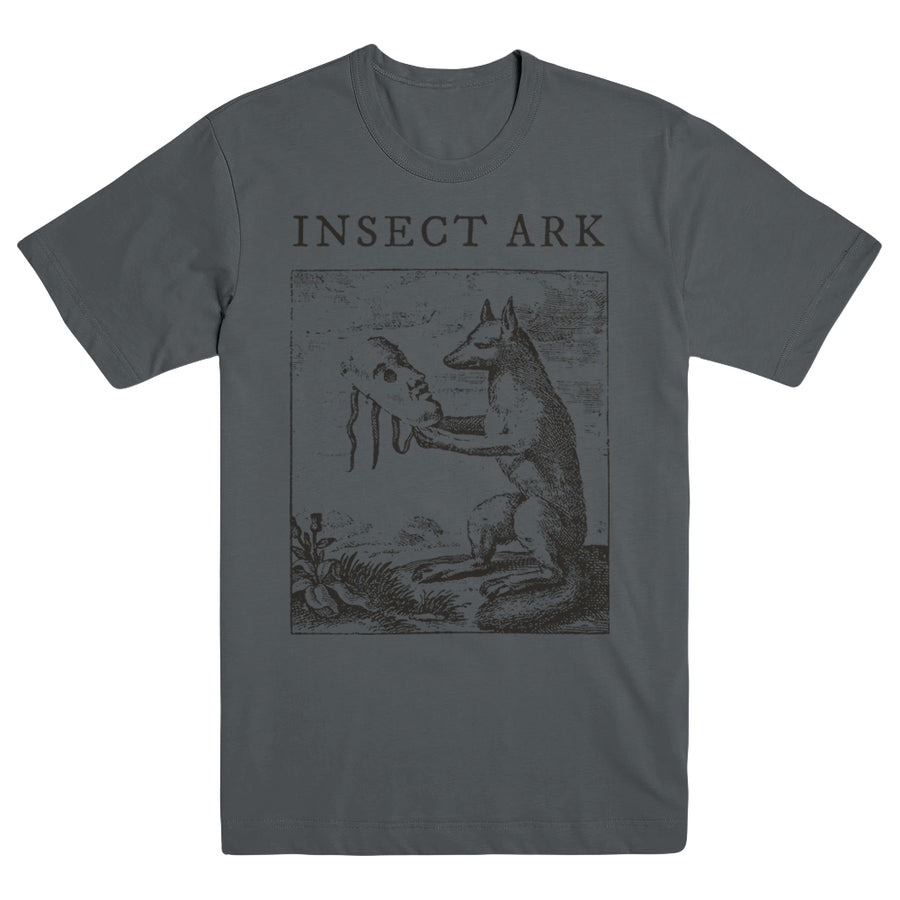 "INSECT ARK ""Fox Charcoal"" T-Shirt"