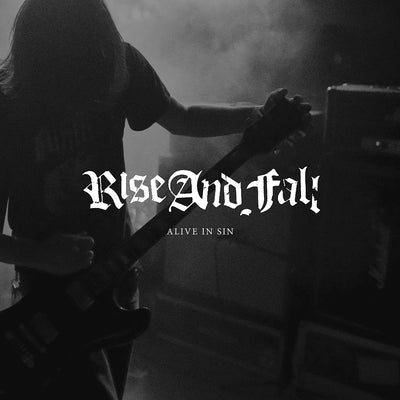 "RISE AND FALL ""Alive In Sin"" LP"