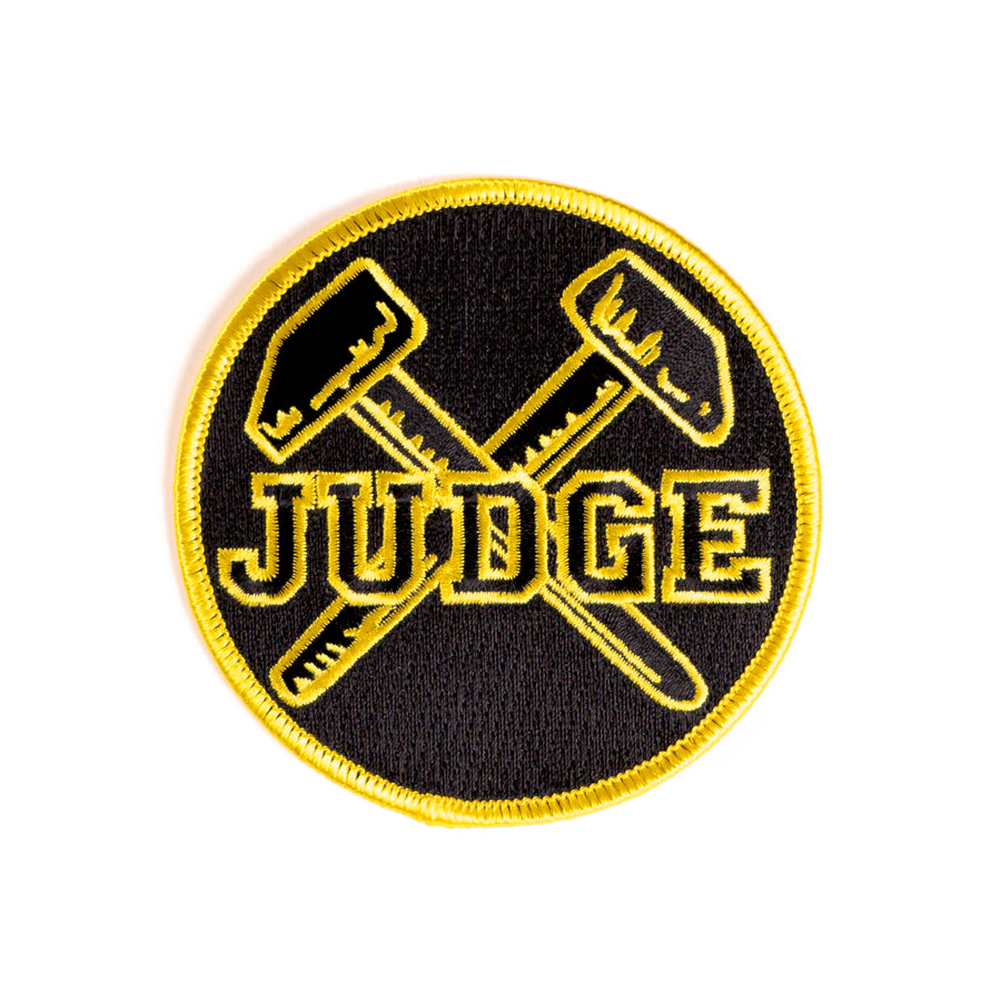 "JUDGE ""Logo"" Patch"