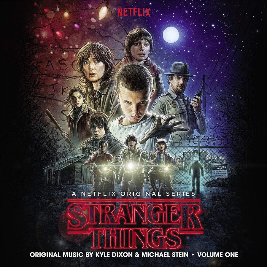 "KYLE DIXON & MICHAEL STEIN ""Stranger Things Season 1, Vol. 1 Soundtrack"" 2xLP"