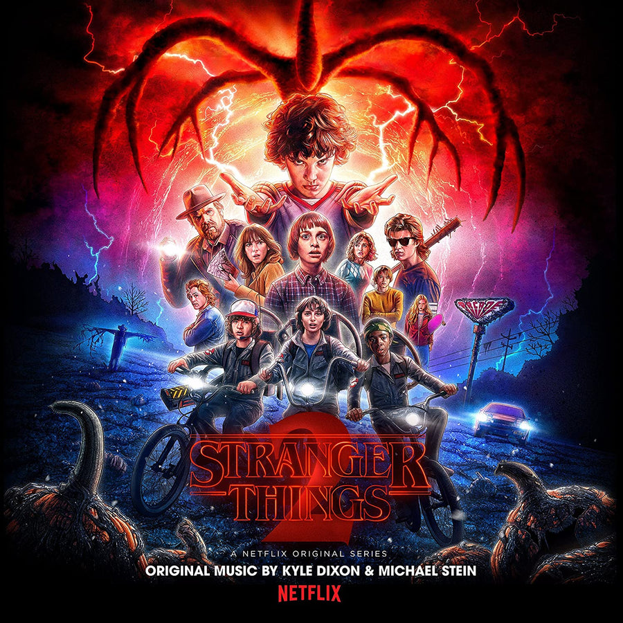 "KYLE DIXON & MICHAEL STEIN ""Stranger Things Season 2"" 2xLP"