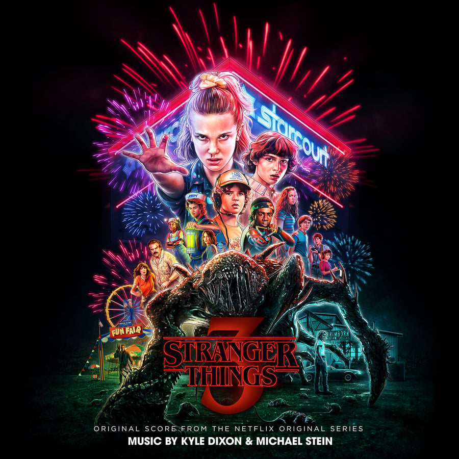 "KYLE DIXON & MICHAEL STEIN ""Stranger Things Season 3"" 2xLP"