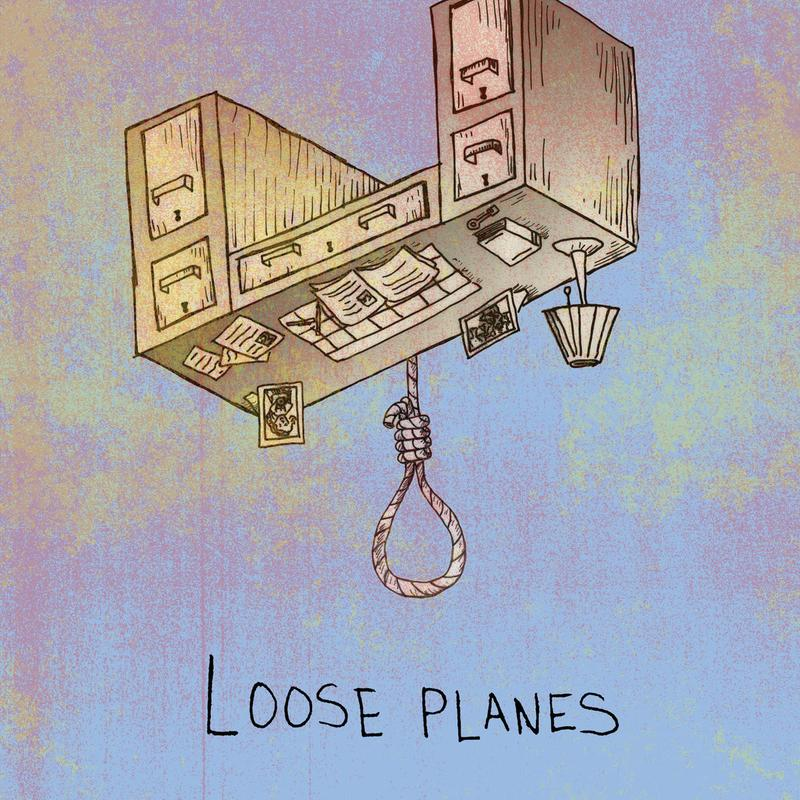 "LOOSE PLANES ""Self Titled"" 7"""
