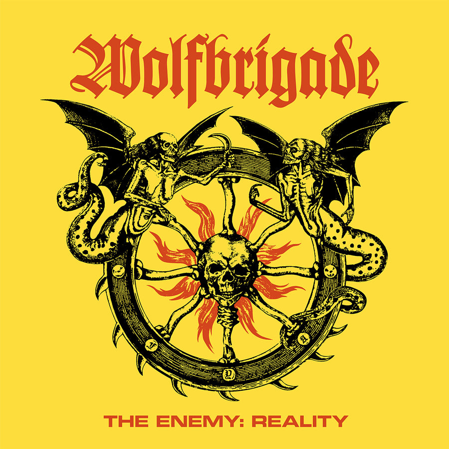 "WOLFBRIGADE ""The Enemy: Reality"" CD"