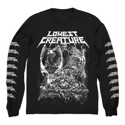 "LOWEST CREATURE ""Grave Digging"" Longsleeve"
