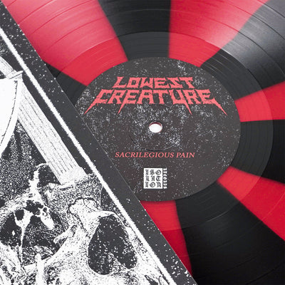"LOWEST CREATURE ""Sacrilegious Pain"" LP"