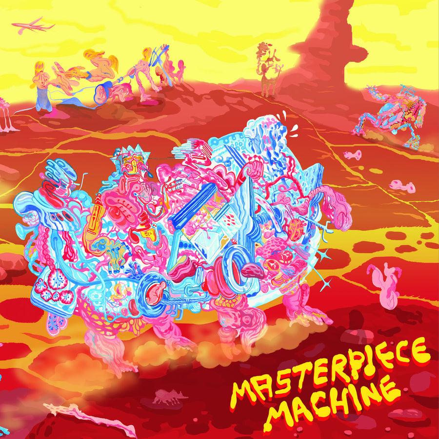 "MASTERPIECE MACHINE ""Rotting Fruit / Letting You In On a Secret"" 12"""