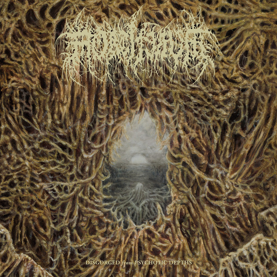 "MORTIFERUM ""Disgorged From Psychotic Depths"" LP"