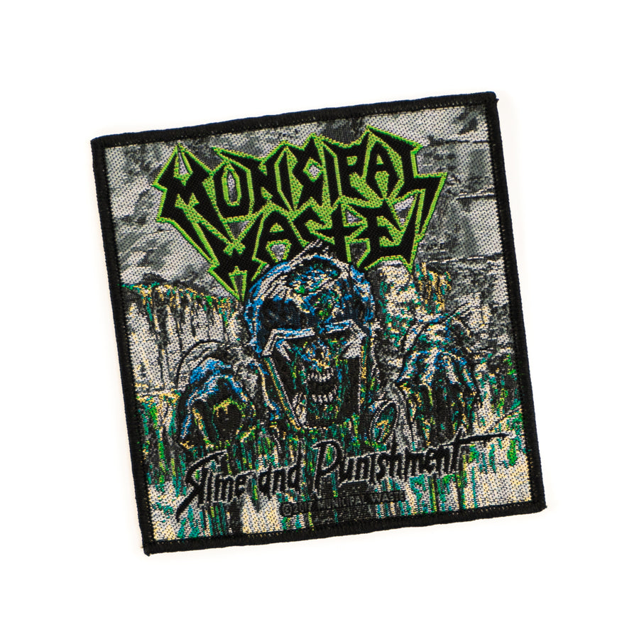 "MUNICIPAL WASTE ""Slime And Punishment"" Patch"