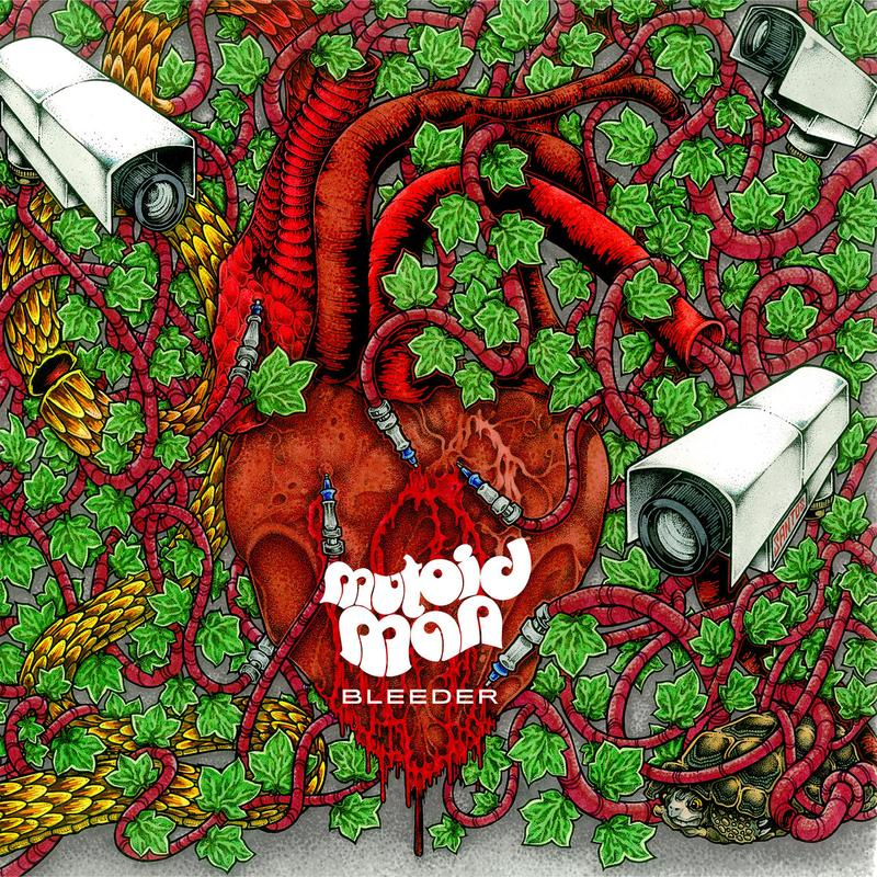 "MUTOID MAN ""Bleeder"" CD"