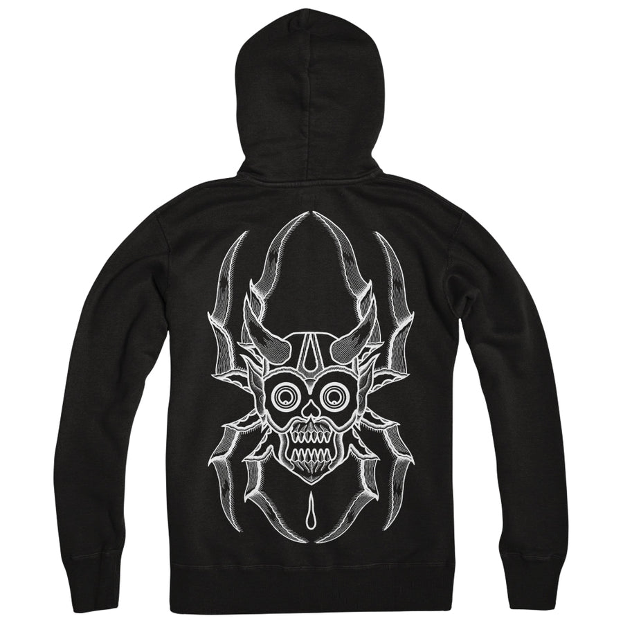"MUTOID MAN ""Bonethrower"" Zipper"