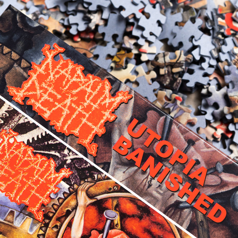 "NAPALM DEATH ""Utopia Banished"" Puzzle"