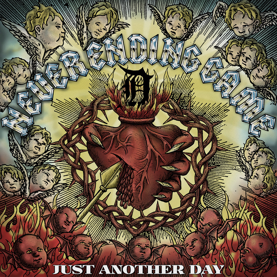 "NEVER ENDING GAME ""Just Another Day"" LP"