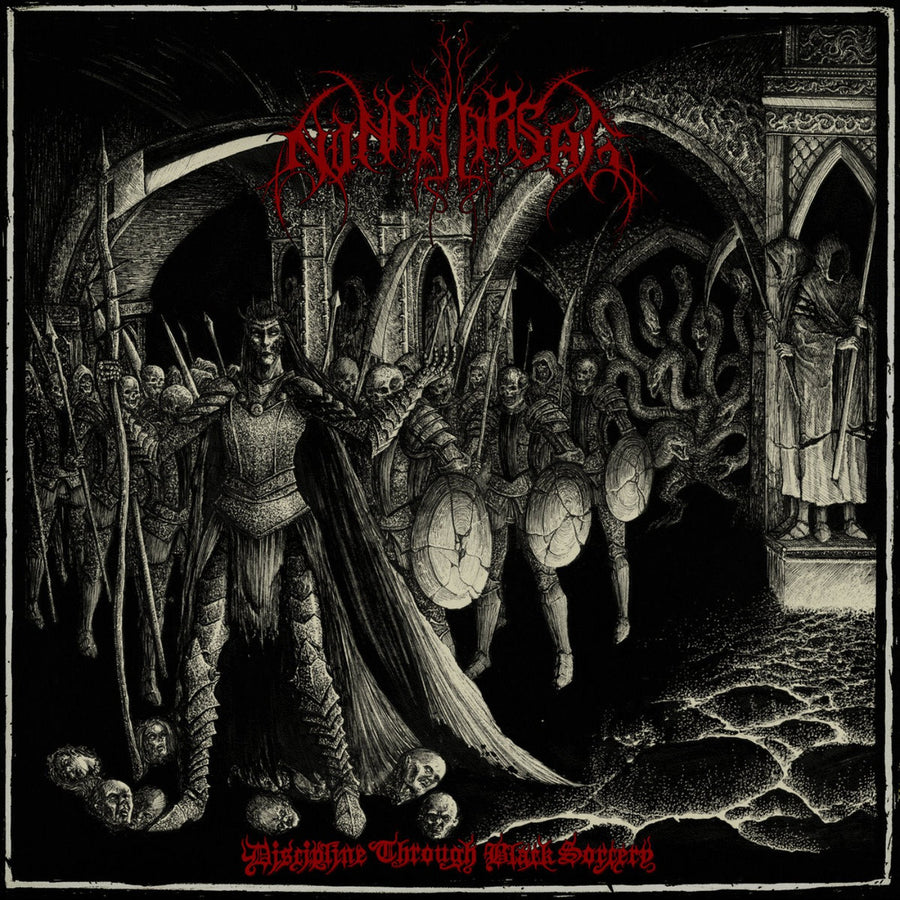 "NINKHARSAG ""Discipline Through Black Sorcery"" 7"""