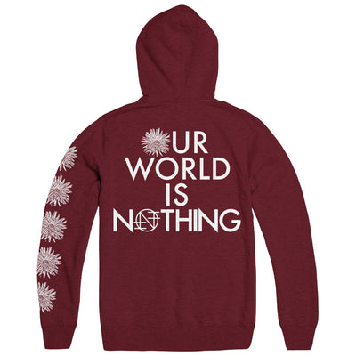 "NOTHING ""Our World Is Nothing"" Hoodie"