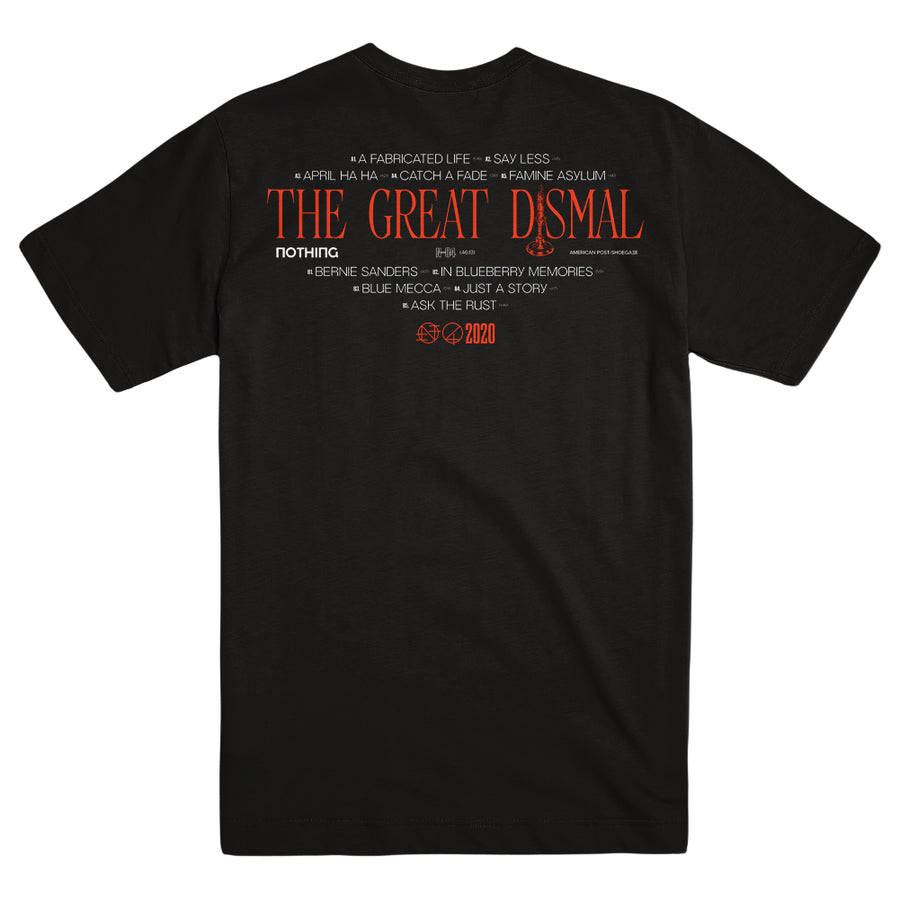 "NOTHING ""The Great Dismal Black"" T-Shirt"
