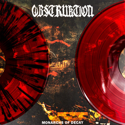"OBSTRUKTION ""Monarchs Of Decay"" LP"