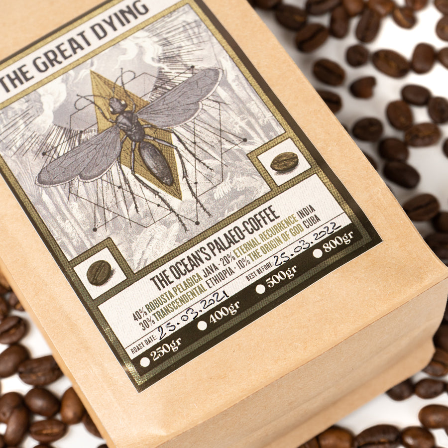 "THE OCEAN ""The Great Dying"" Coffee"