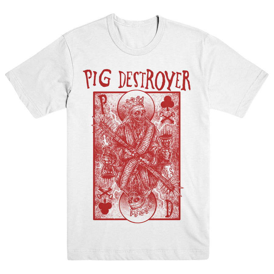 "PIG DESTROYER ""King Of Clubs"" T-Shirt"
