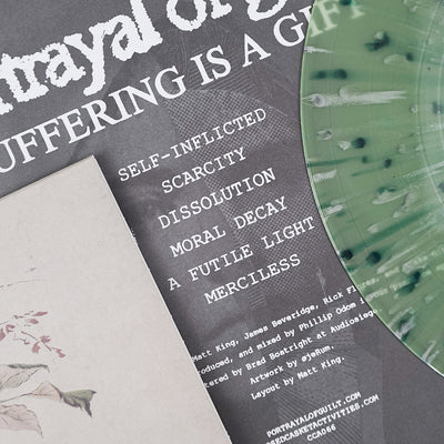 "PORTRAYAL OF GUILT ""Suffering Is A Gift"" 12"""