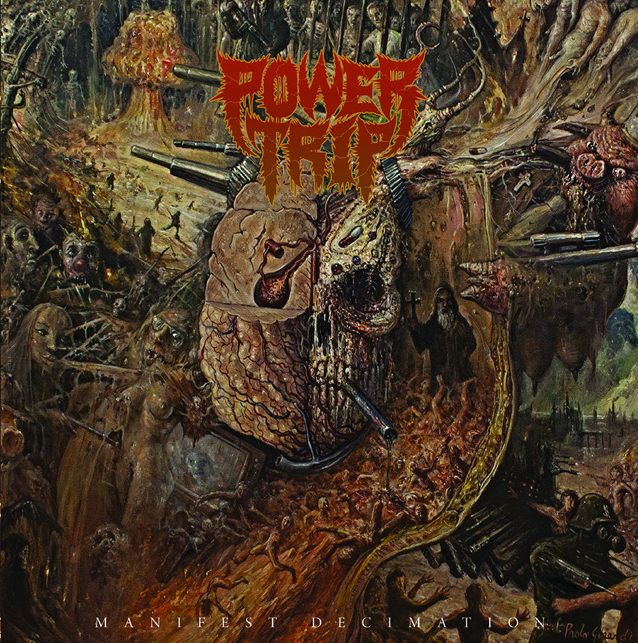 "POWER TRIP ""Manifest Decimation"" LP"
