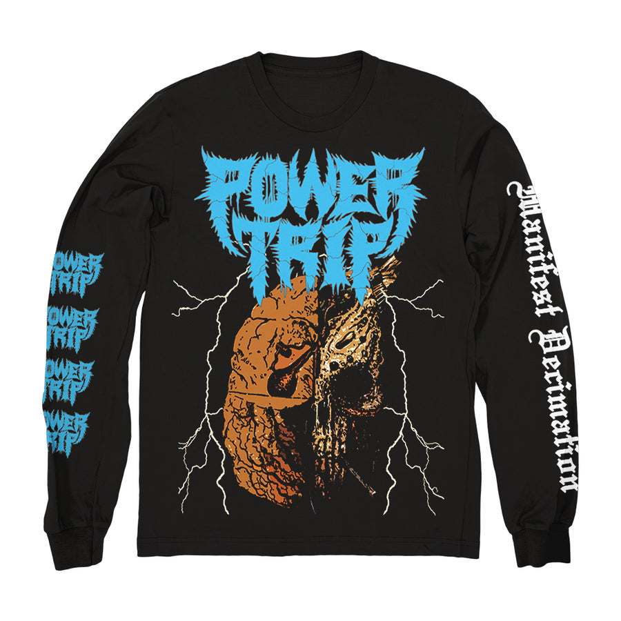 "POWER TRIP ""Manifest Decimation"" Longsleeve"