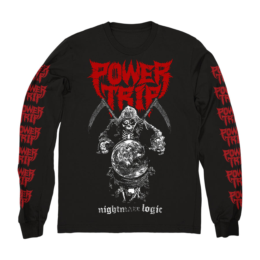 "POWER TRIP ""Nightmare Logic"" Longsleeve"